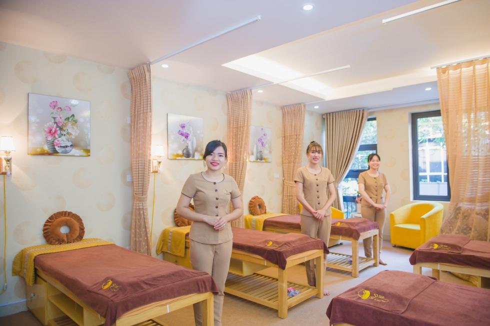 dịch vụ spa tại sviet spa uy tín